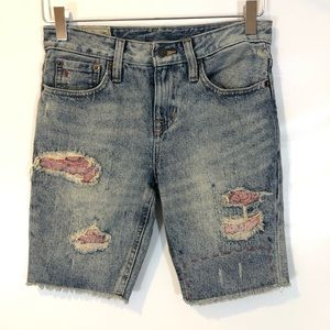 Ralph Lauren POLO Distressed Shorts